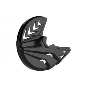 Kryt předního brzdového kotouče se spodním krytem vidlice POLISPORT PERFORMANCE černá/černá