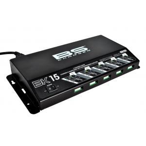 Profesionální nabíječka pro 5 baterií BS-BATTERY 5 Bank charger BK15 12V 5x1.5A