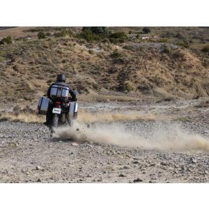 Vrchní hliníkový kufr na motorku SHAD Terra TR37 D0TR37100