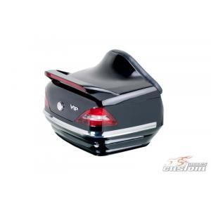 Vrchní kufr na motorku CUSTOMACCES MERCEDES MT0005N černý
