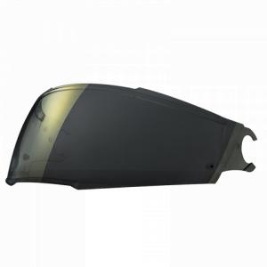 Zlatě iridiové plexi pro přilbu LS2 FF902