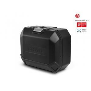 Boční hliníkový kufr na motorku SHAD Terra TR36 D0TR36100LB BLACK EDITION levý