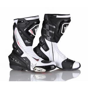 Boty na motorku RSA GP-01 černo-bílé