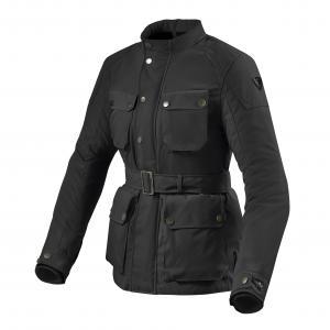 Dámská bunda na motorku Revit Livingstone černá