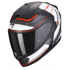 Integrální přilba na motorku SCORPION EXO-1400 AIR VITTORIA matná černo-bílá