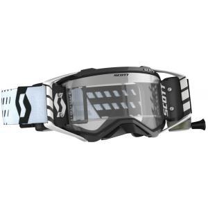 Motokrosové brýle SCOTT Prospect WFS černo-bílé