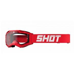 Motokrosové brýle Shot Assault 2.0 Solid červené