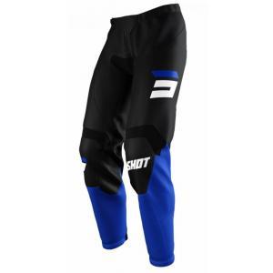 Motokrosové kalhoty Shot Raw Burst černo-modré