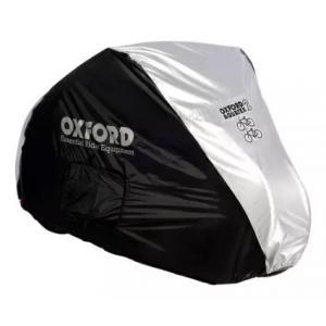 Plachta na dvě kola Oxford Aquatex černo-stříbrná