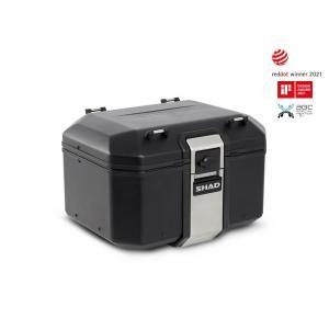Vrchní hliníkový kufr na motorku SHAD Terra TR48 D0TR48100B BLACK EDITION