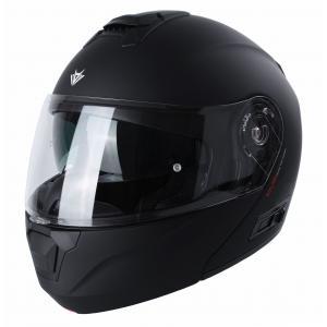 Vyklápěcí přilba na motorku RSA Rival černá matná