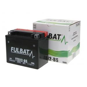 Bezúdržbová motocyklová baterie FULBAT FTX12-BS (YTX12-BS)