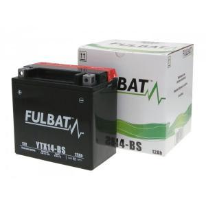 Bezúdržbová motocyklová baterie FULBAT FTX14-BS (YTX14-BS)