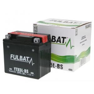 Bezúdržbová motocyklová baterie FULBAT FTX5L-BS (YTX5L-BS)