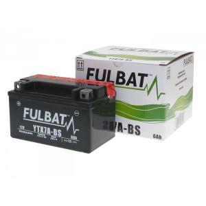 Bezúdržbová motocyklová baterie FULBAT FTX7A-BS (YTX7A-BS)