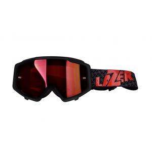 Brýle na motorku Lazer MX - červené sklo