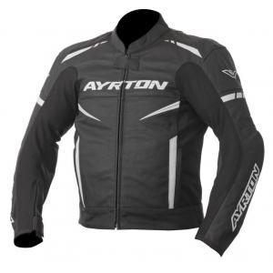 Bunda na motorku Ayrton Raptor černo-bílá výprodej