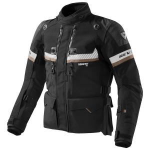 Bunda na motorku Revit Dominator GTX černá výprodej