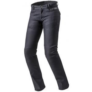 Dámské jeansy na motorku Revit Orlando H2O RF modré výprodej