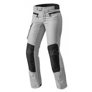 Dámské kalhoty na motorku Revit Enterprise 2 stříbrné zkrácené výprodej
