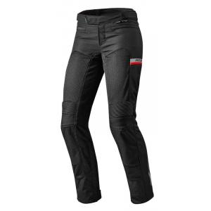 Dámské kalhoty na motorku Revit Tornado 2 černé prodloužené výprodej