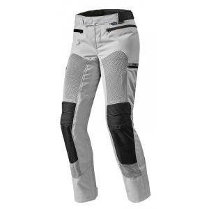 Dámské kalhoty na motorku Revit Tornado 2 stříbrné prodloužené výprodej