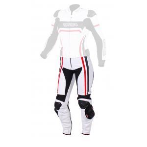 Dámské kalhoty na motorku RSA Virus bílo-černo-červené výprodej