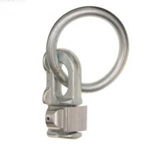 Dvojité kotvící oko Q-TECH stříbrné výprodej