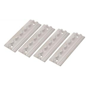 Hranatá kotevní lišta Q-TECH hliníková (sada 4 kusů) výprodej