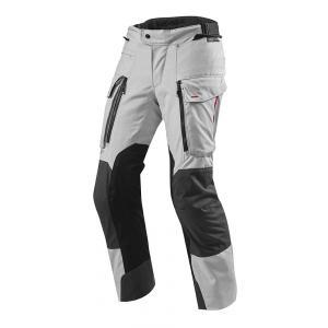 Kalhoty na motorku Revit Sand 3 stříbrné zkrácené výprodej