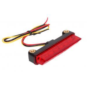 LED koncové zadní světlo R-TECH s červeným sklem