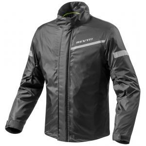 Moto bunda do deště Revit Cyclone 2 H2O černá výprodej