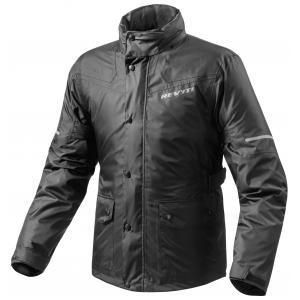 Moto bunda do deště Revit Nitric 2 H2O černá výprodej