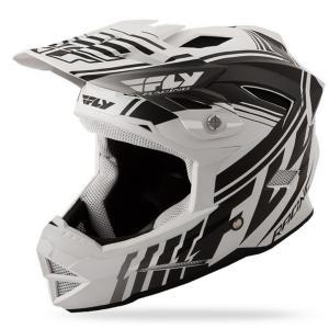 Motokrosová přilba FLY Racing DEFAULT - USA bílá mat-černá