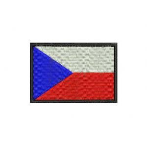 Nášivka vlajka CZ