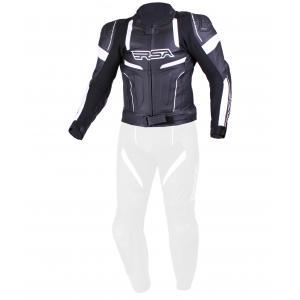 Pánská bunda RSA Speedway černo-bílá