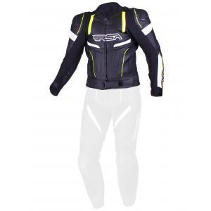Pánská bunda RSA Speedway černo-bílo-fluo žlutá