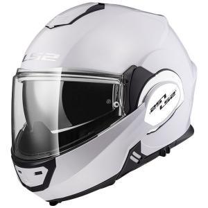 Překlápěcí přilba na motorku LS2 FF399 Valiant bílá