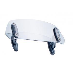 Přídavné plexi nastavitelné PUIG 6007W připevnění pomocí šroubů průhledný