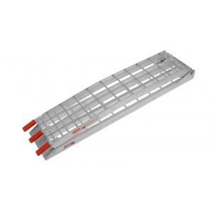 Skládací úzká nájezdová rampa MX Q-TECH hliníková