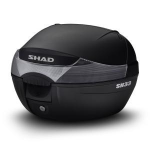 Vrchní kufr na motorku SHAD SH33 černá