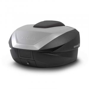 Vrchní kufr na motorku SHAD SH59X černý s hliníkovým krytem (rozšiřitelný koncept) výprodej
