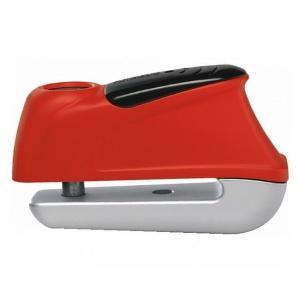 Zámek na kotoučovou brzdu s alarmem Abus 350 Trigger červený výprodej