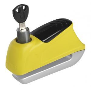 Zámek na kotoučovou brzdu s alarmem Abus 350 Trigger žlutý