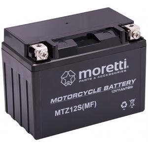 Bezúdržbová gelová baterie  Moretti MTZ12S, 12V 10Ah