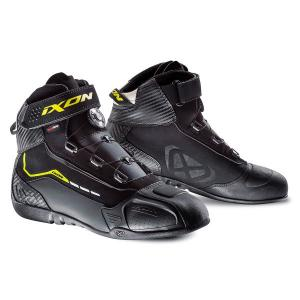 Boty na motorku IXON Soldier EVO černo-žluté