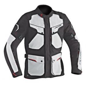 Bunda na motorku IXON Crosstour HP černo-šedá
