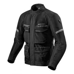 Bunda na motorku Revit Outback 3 černo-stříbrná