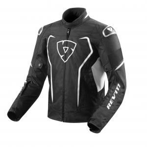 Bunda na motorku Revit Vertex H2O černo-bílá výprodej