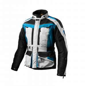 Bunda na motorku Shima Horizon modro-šedo-černá výprodej